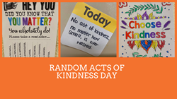 Random Acts of Kindness Day.